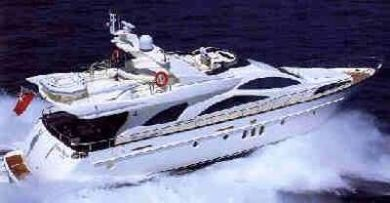 Azimut yacht for charter