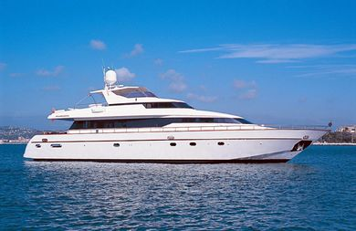 Indulgence yacht for charter