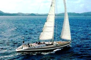 sailing yacht for charter - sail on Cote d'Azur