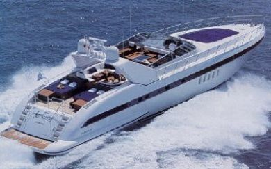 Mangusta yacht chater - rent a mangusta at Villefranche